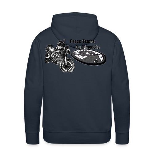 Passe temps du dimanche - Sweat-shirt à capuche Premium pour hommes