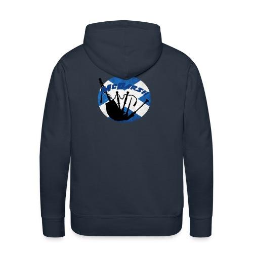 Logo McDarsh - Sweat-shirt à capuche Premium pour hommes