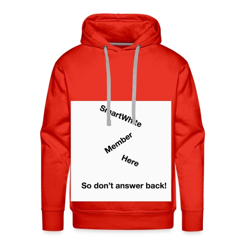 Default SmartWhite Member Merch - Men's Premium Hoodie