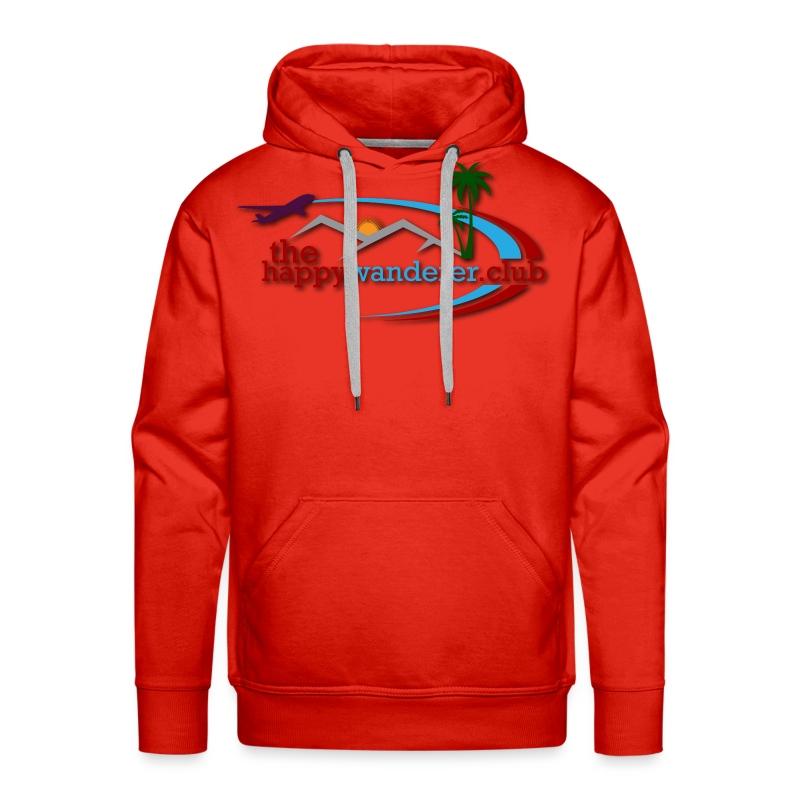 The Happy Wanderer Club Merchandise - Men's Premium Hoodie