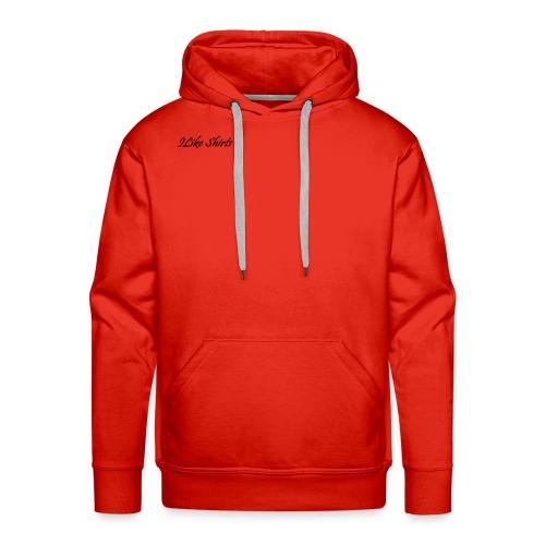 ILike Shirts Basic - Männer Premium Hoodie
