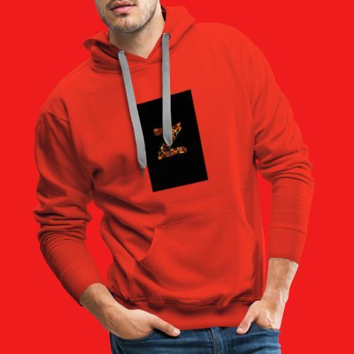 Das Z in tiger format - Männer Premium Hoodie