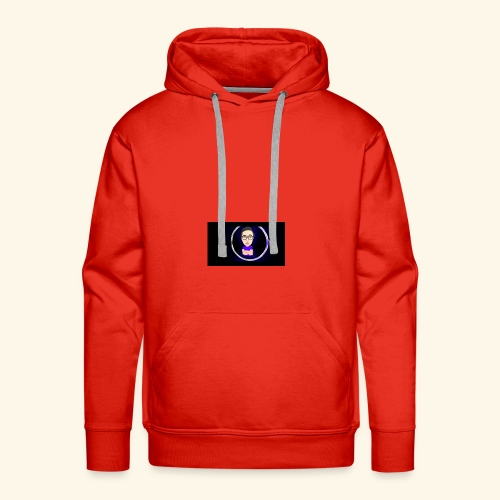 Logo YouTube - Sweat-shirt à capuche Premium pour hommes