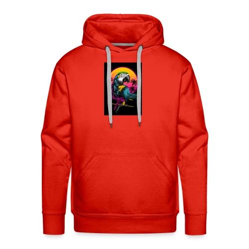 Papagei Vice City - Männer Premium Hoodie