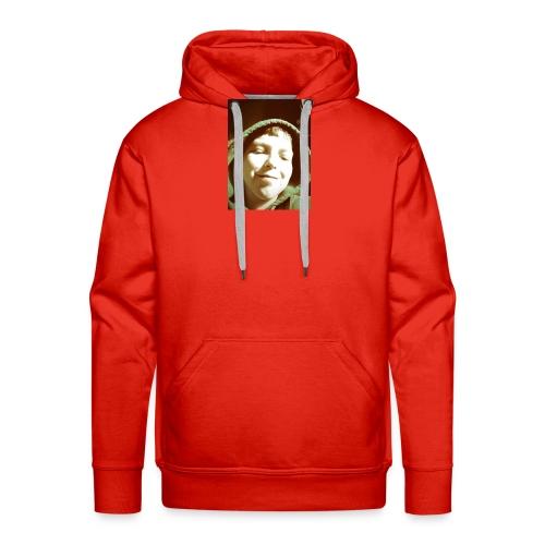 foto van mij op je shirt - Mannen Premium hoodie