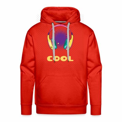 COOL - Sweat-shirt à capuche Premium pour hommes