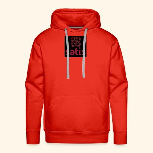 Satis - Sweat-shirt à capuche Premium pour hommes