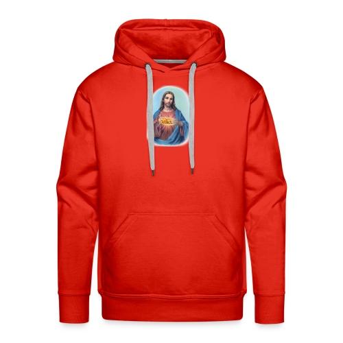Jésus et le kébab - Sweat-shirt à capuche Premium pour hommes
