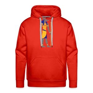 Der altägyptische Gott Anubis - Männer Premium Hoodie