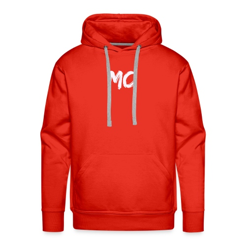MC Merch Sweatshirt - Small badge (Grey) - Men's Premium Hoodie