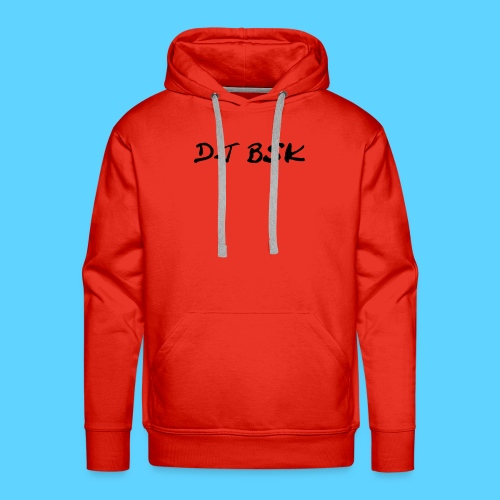 Collection DJ BSK - Sweat-shirt à capuche Premium pour hommes