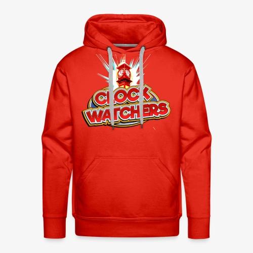 The Clockwatchers logo - Men's Premium Hoodie