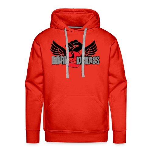 Born 2 KickAss official products - Men's Premium Hoodie