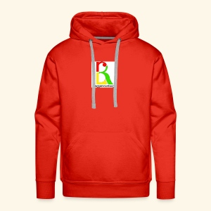 band logo coloured - Men's Premium Hoodie