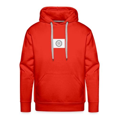 M T logo - Premium hettegenser for menn