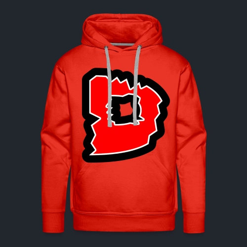logo groot - Mannen Premium hoodie