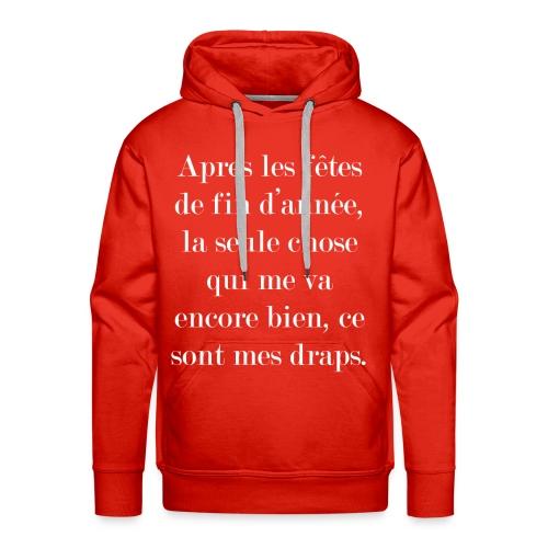 fêtes de fin d'année - Sweat-shirt à capuche Premium pour hommes