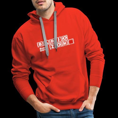 BOX - Sweat-shirt à capuche Premium pour hommes