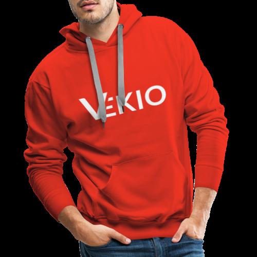 Vekio Complet Blanc - Sweat-shirt à capuche Premium pour hommes