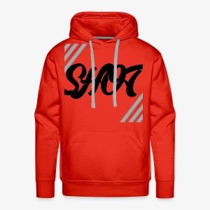 Shot text - Men's Premium Hoodie
