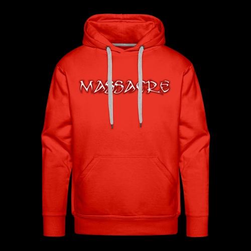 Massacre - Sweat-shirt à capuche Premium pour hommes