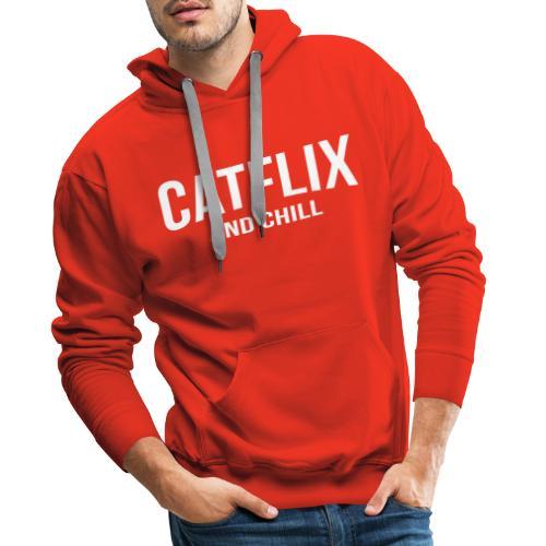 Catflix and Chill - Männer Premium Hoodie