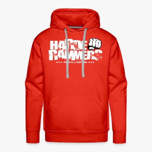 Harde Rammers Wit - Mannen Premium hoodie