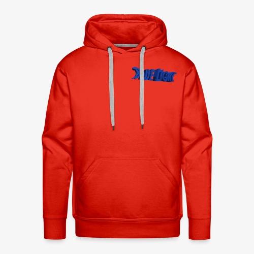 Blue Light Borst - Mannen Premium hoodie