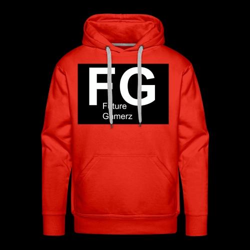 FG lofo boxed black boxed - Men's Premium Hoodie