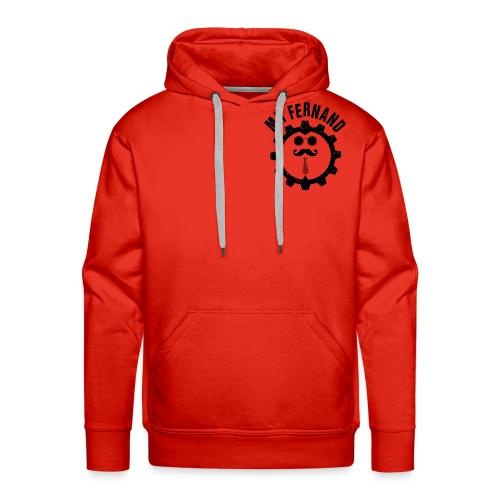 LOGO POUR TEE SHIRT MR FERNAND - Sweat-shirt à capuche Premium pour hommes