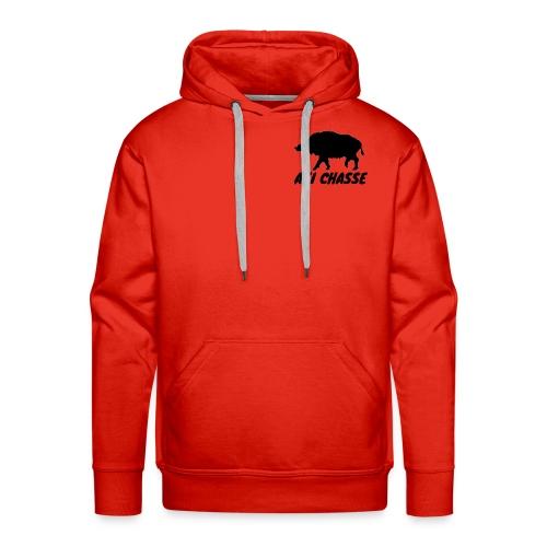 AXI Chasse - Sweat-shirt à capuche Premium pour hommes