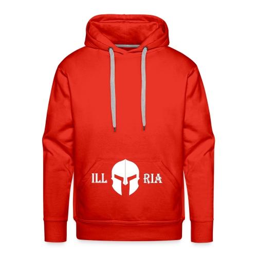 illyria white - Männer Premium Hoodie
