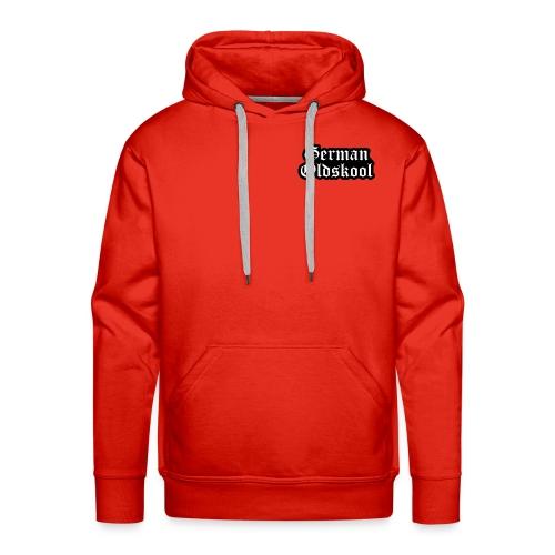 Grand Logo German Oldskool Official - Sweat-shirt à capuche Premium pour hommes