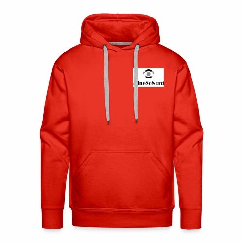 Minesonord Noir et Blanc - Sweat-shirt à capuche Premium pour hommes
