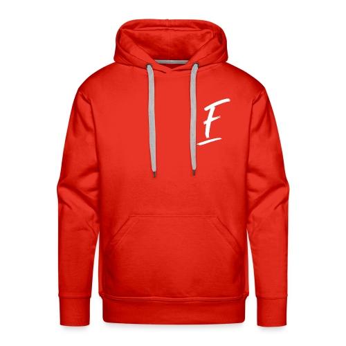 Radio Fugue F Blanc - Sweat-shirt à capuche Premium pour hommes