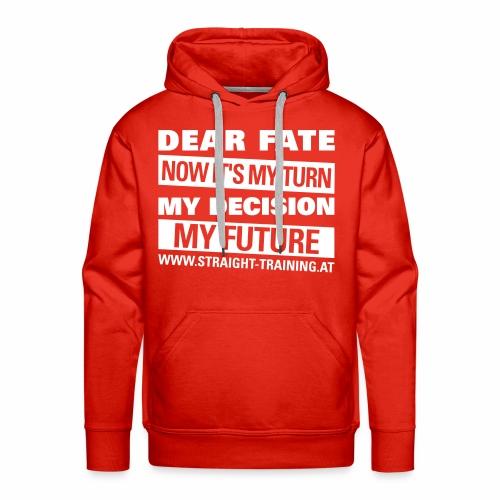 Decision Future - Männer Premium Hoodie