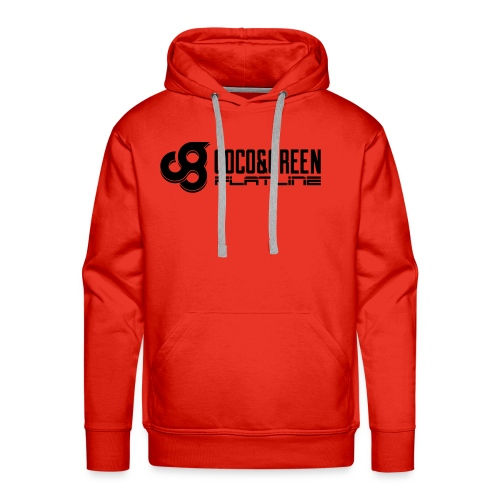 Coco and Green And Flatline - Men's Premium Hoodie