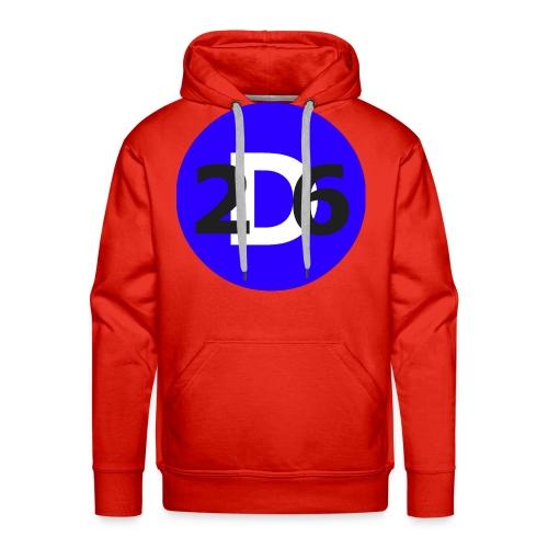 Dommie 26 original logo - Men's Premium Hoodie