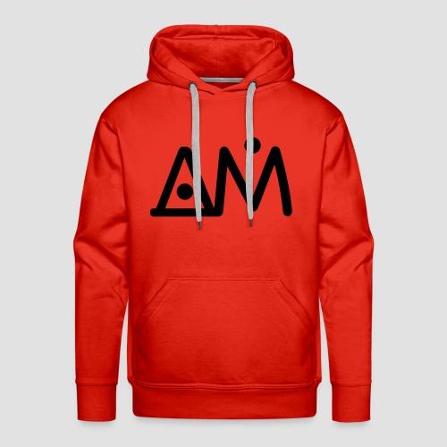 AM Brand 2019 - Felpa con cappuccio premium da uomo