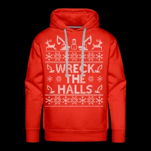 WRECK THE HALLS - Men's Premium Hoodie