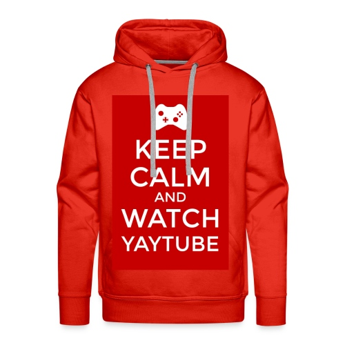 Keep Calm and Watch YayTube - Men's Premium Hoodie