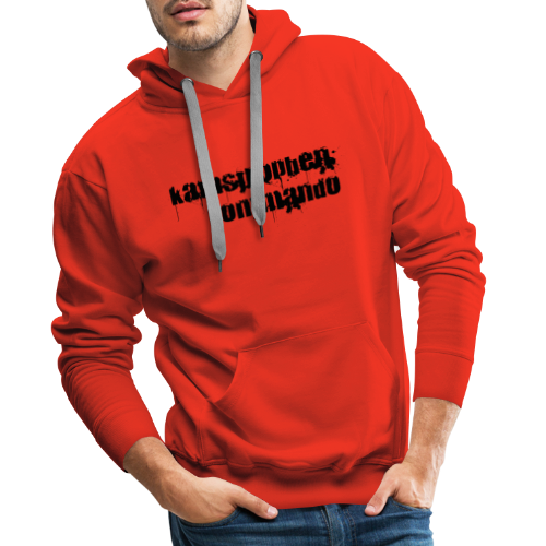 KK Logo schwarz - Männer Premium Hoodie