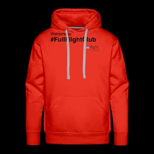 Welcome to #FullFlightClub - Men's Premium Hoodie
