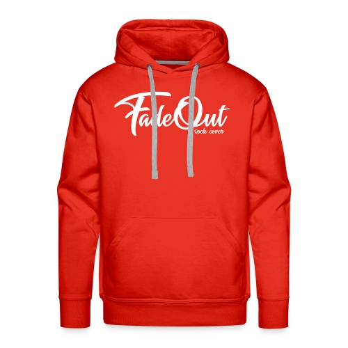 FadeOut Rock 'n' White - Männer Premium Hoodie