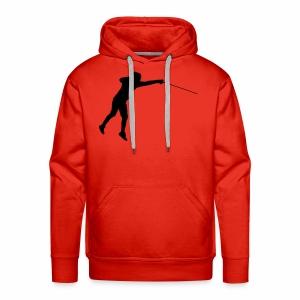 Jumping Fencer - Männer Premium Hoodie