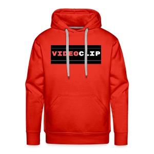 VideoClip-tekst - Mannen Premium hoodie