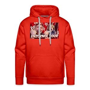 EnzoKnol Tour - Mannen Premium hoodie