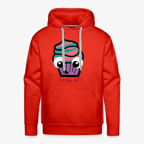 LetMeGO Cupcake - Mannen Premium hoodie
