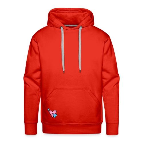 Spicious love logo - Mannen Premium hoodie