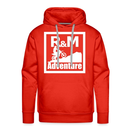 R M Adventure - Männer Premium Hoodie